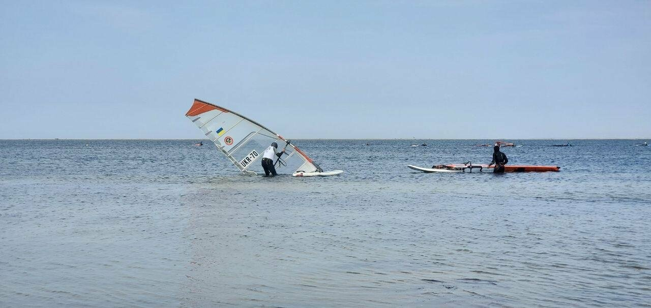 В Бердянске стартовали соревнования по виндсерфингу, фото-2