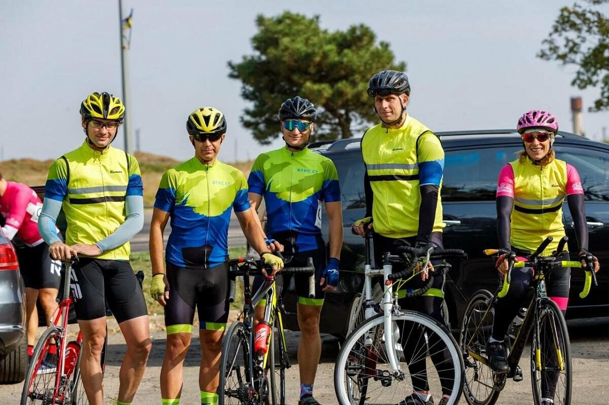 Бердянские велогонщики заняли первые места в чемпионате Запорожской области, фото-1