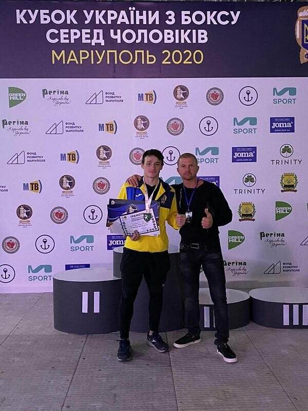 Бердянский спортсмен занял почетное 3 место в Кубке Украины по боксу, фото-1