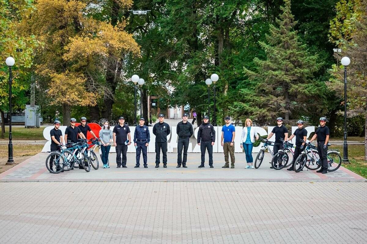 Презентовали новый велопатруль в Бердянске, фото-4