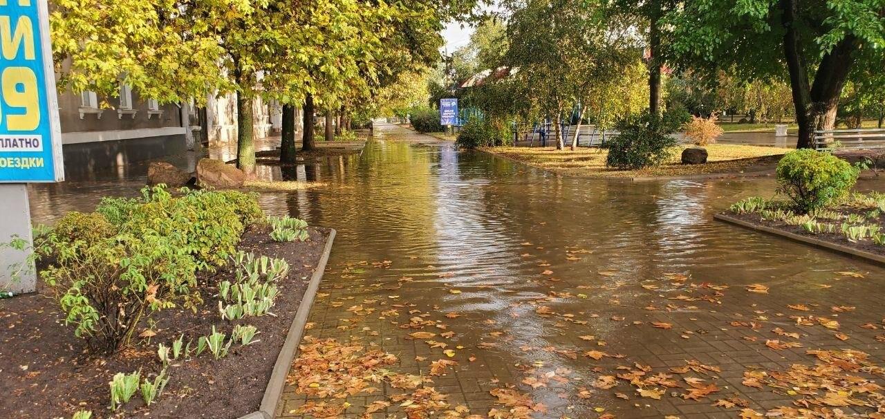 В очередной раз Бердянск затопило после дождя, фото-2
