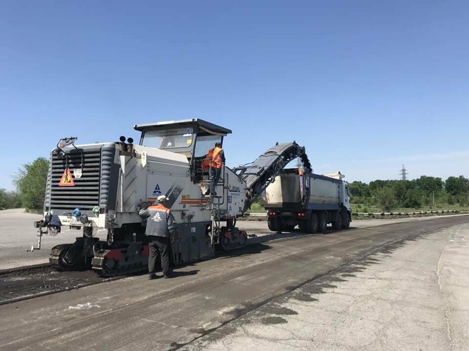 Строительство запорожской трассы почти окончено, фото-1