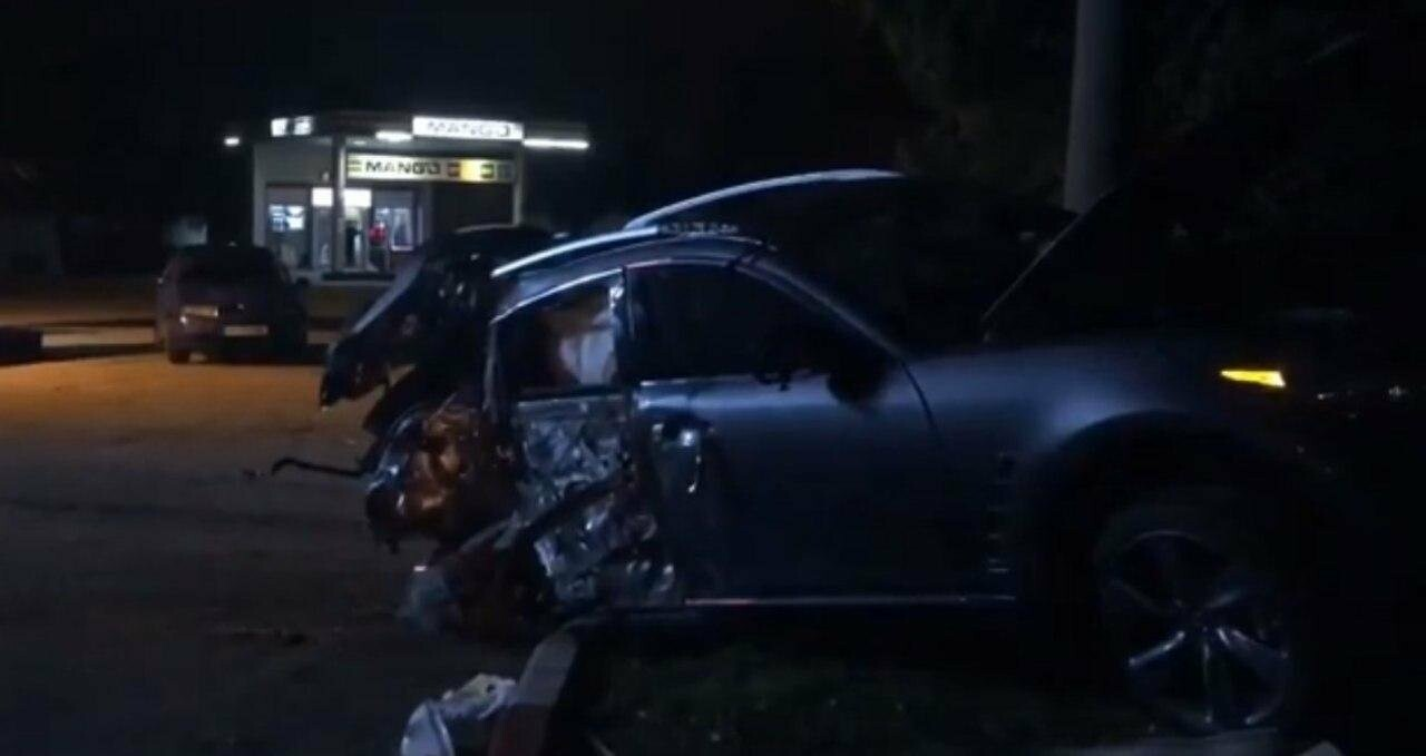 В Бердянске ночью произошла авария на АЗС, фото-1