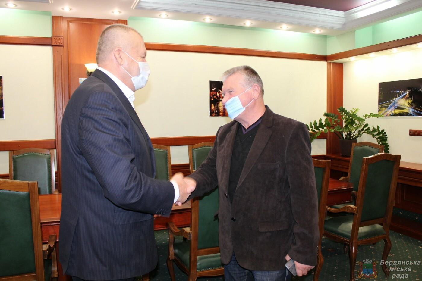 Рабочая встреча городского головы Бердянска с новым руководителем порта, фото-2