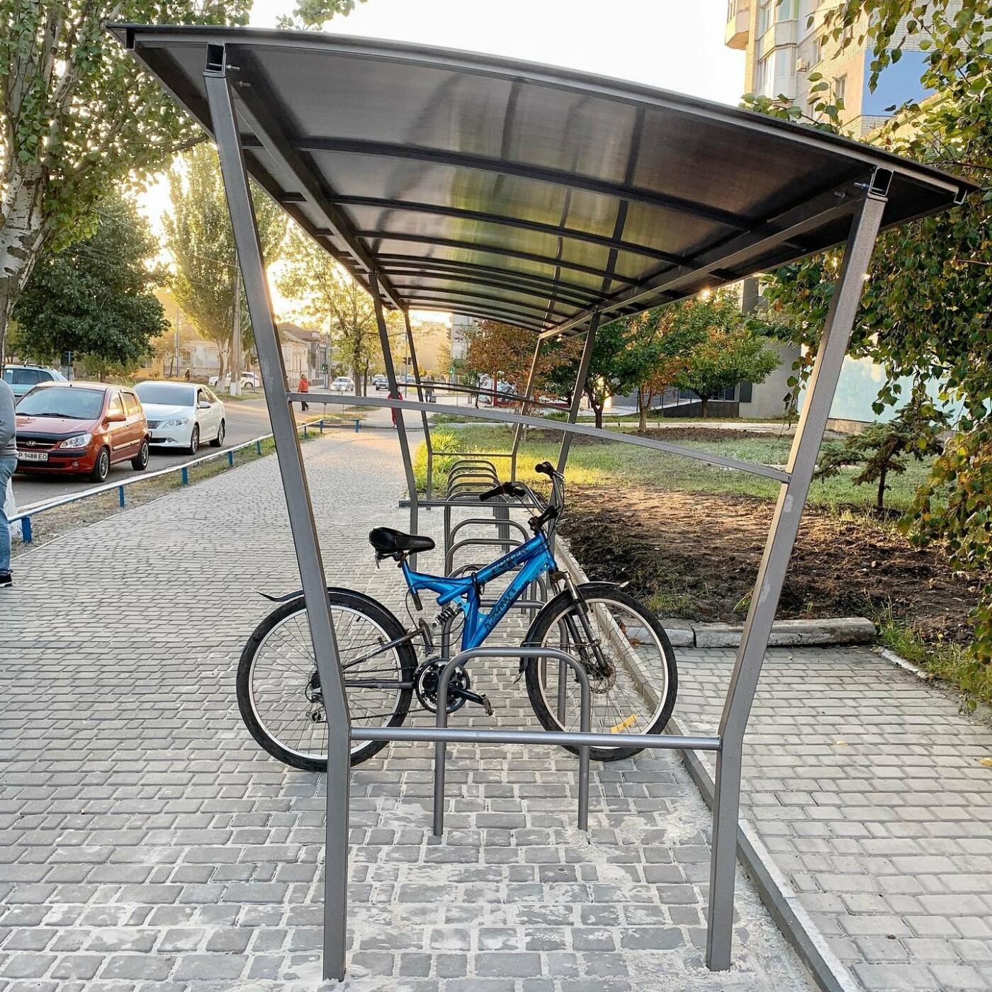 Работы по развитию велоинфраструктуры в Бердянске продолжаются, фото-1
