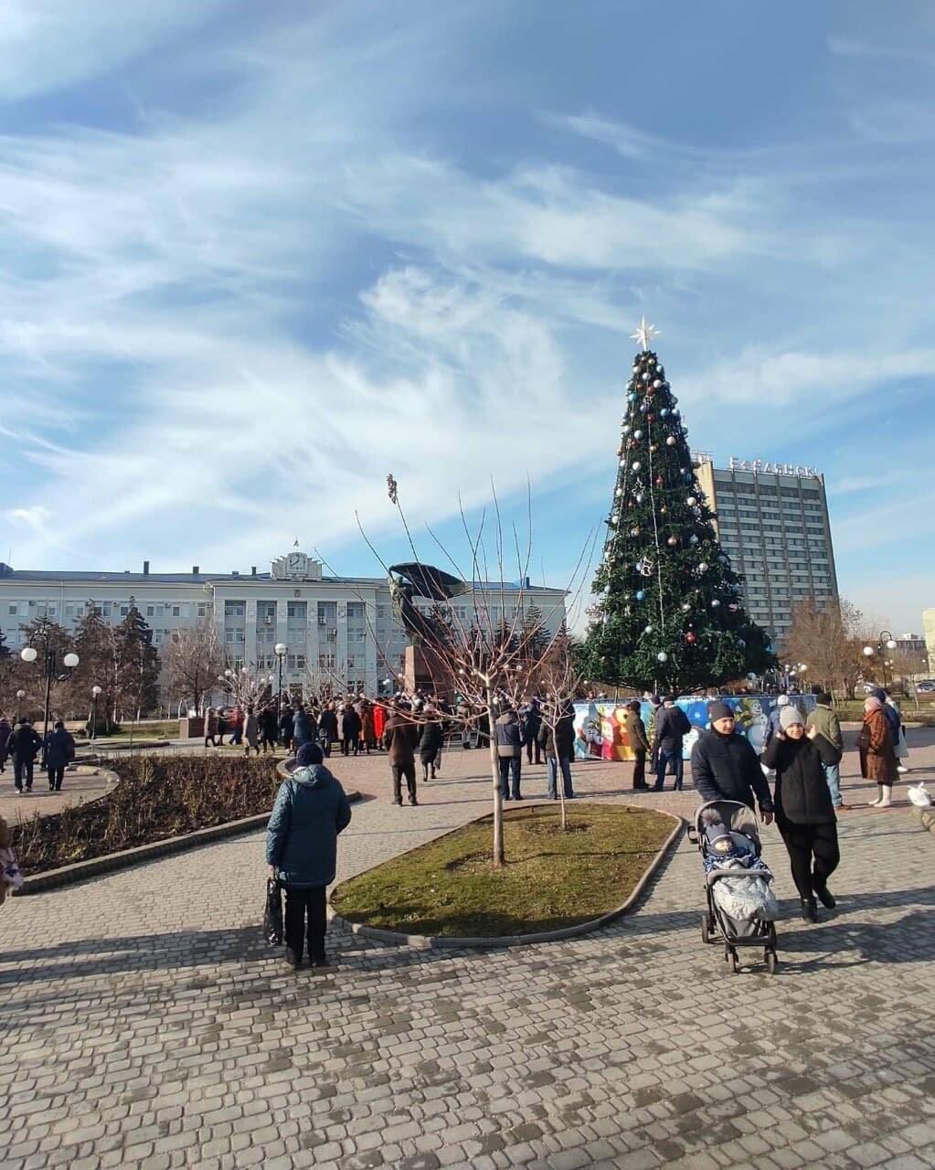 Бердянск присоединился к митингующим городам, фото-2