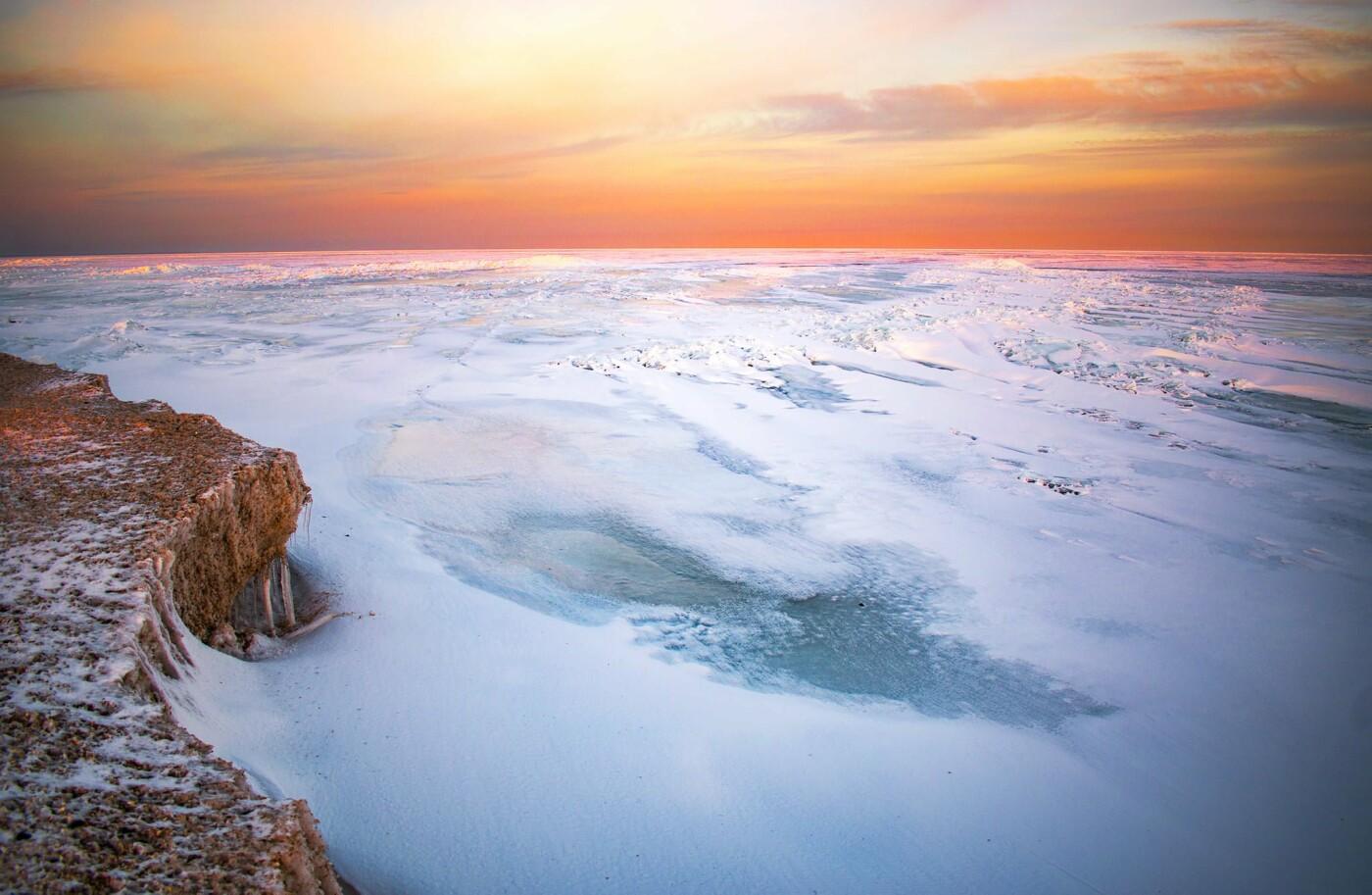 Арктические пейзажи на Бердянской косе (ФОТО, ВИДЕО), фото-4