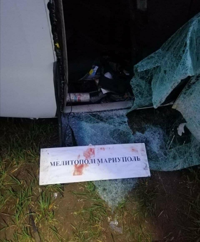 В Бердянском районе столкнулись хлебовоз и маршрутка: есть жертвы, фото-1