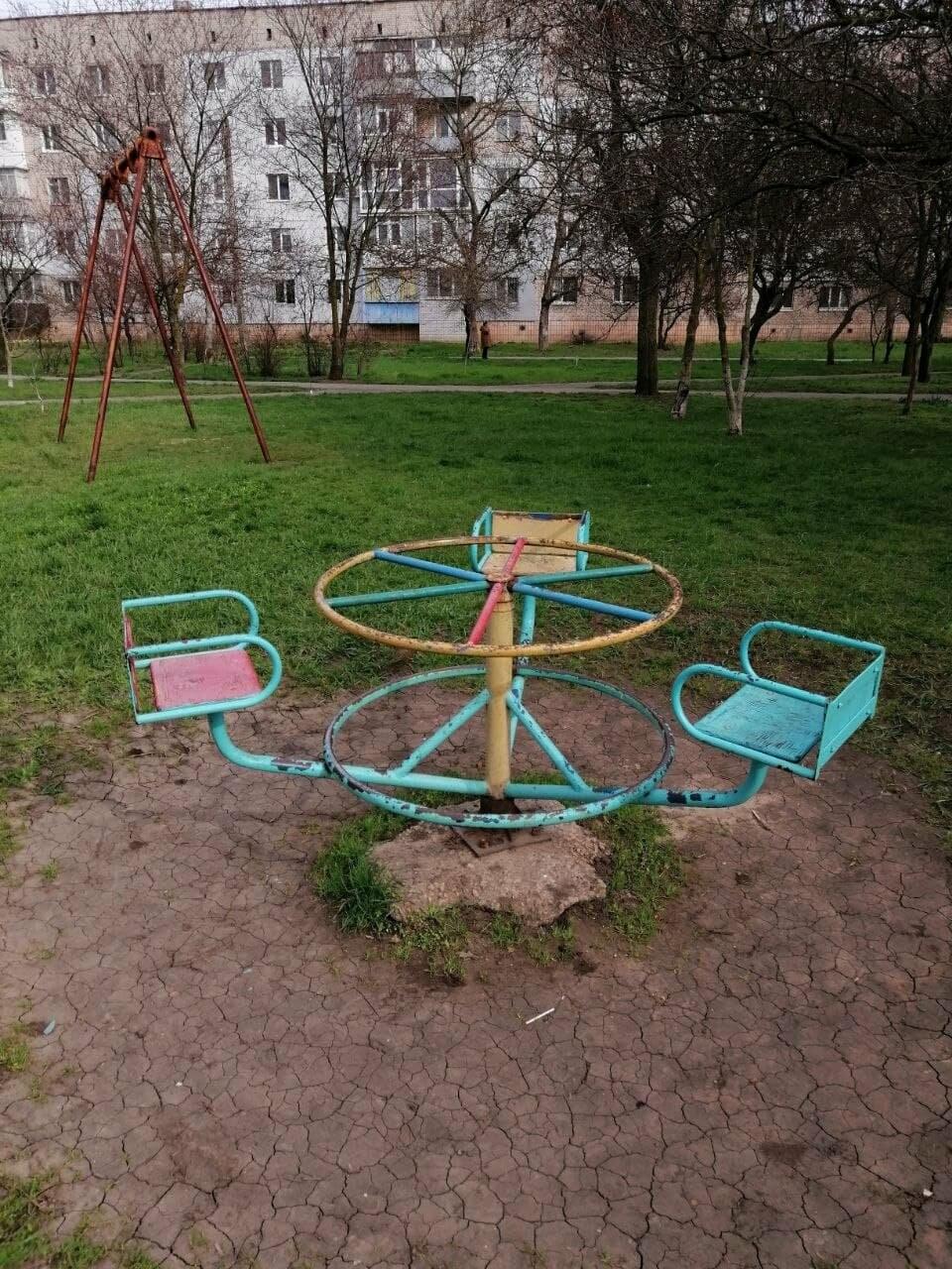 Другой Бердянск: бесхозные детские площадки, фото-5