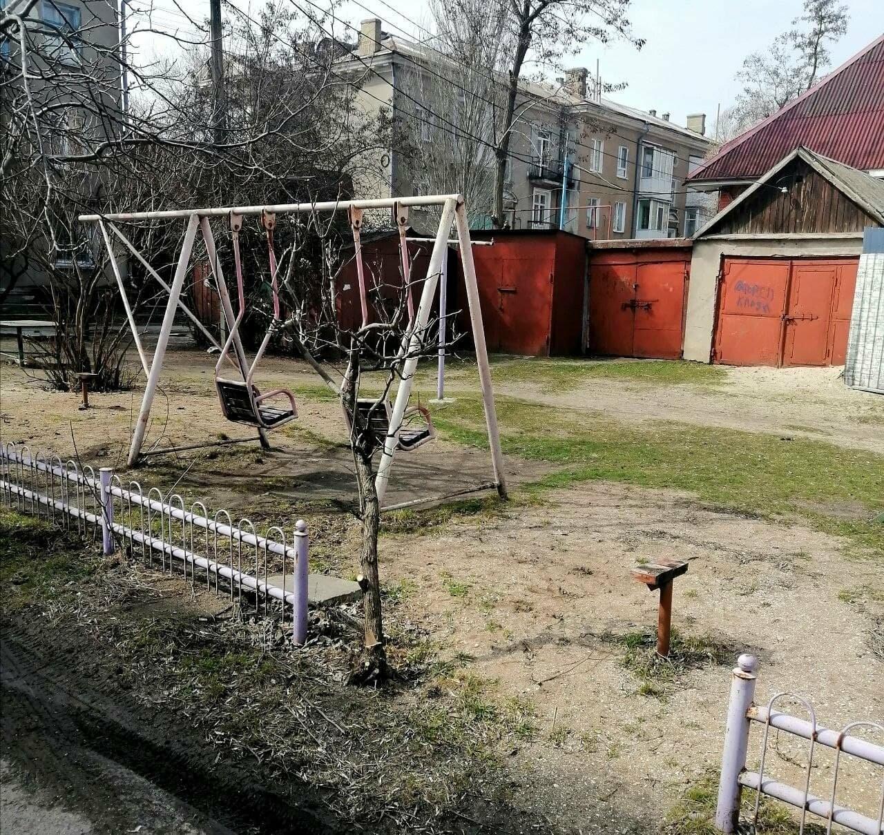 Другой Бердянск: бесхозные детские площадки, фото-1
