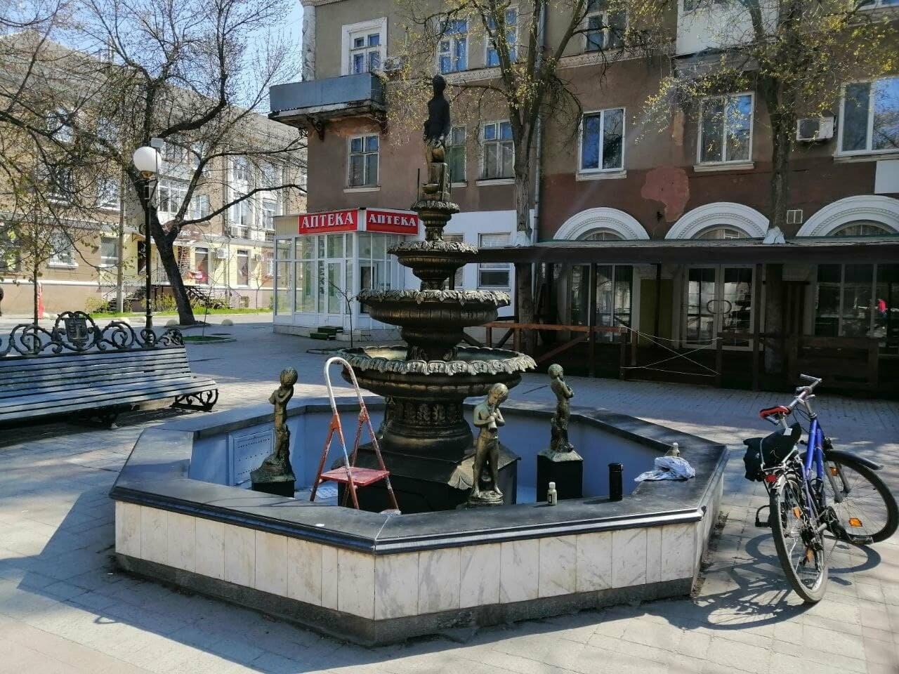 Бердянский фонтан украсят «золотые Купидоны» (ФОТОРЕПОРТАЖ), фото-4
