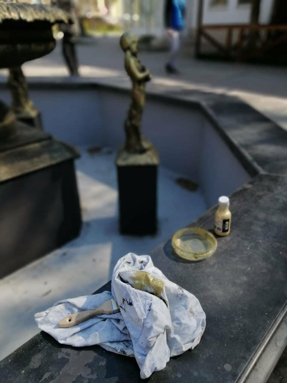 Бердянский фонтан украсят «золотые Купидоны» (ФОТОРЕПОРТАЖ), фото-3