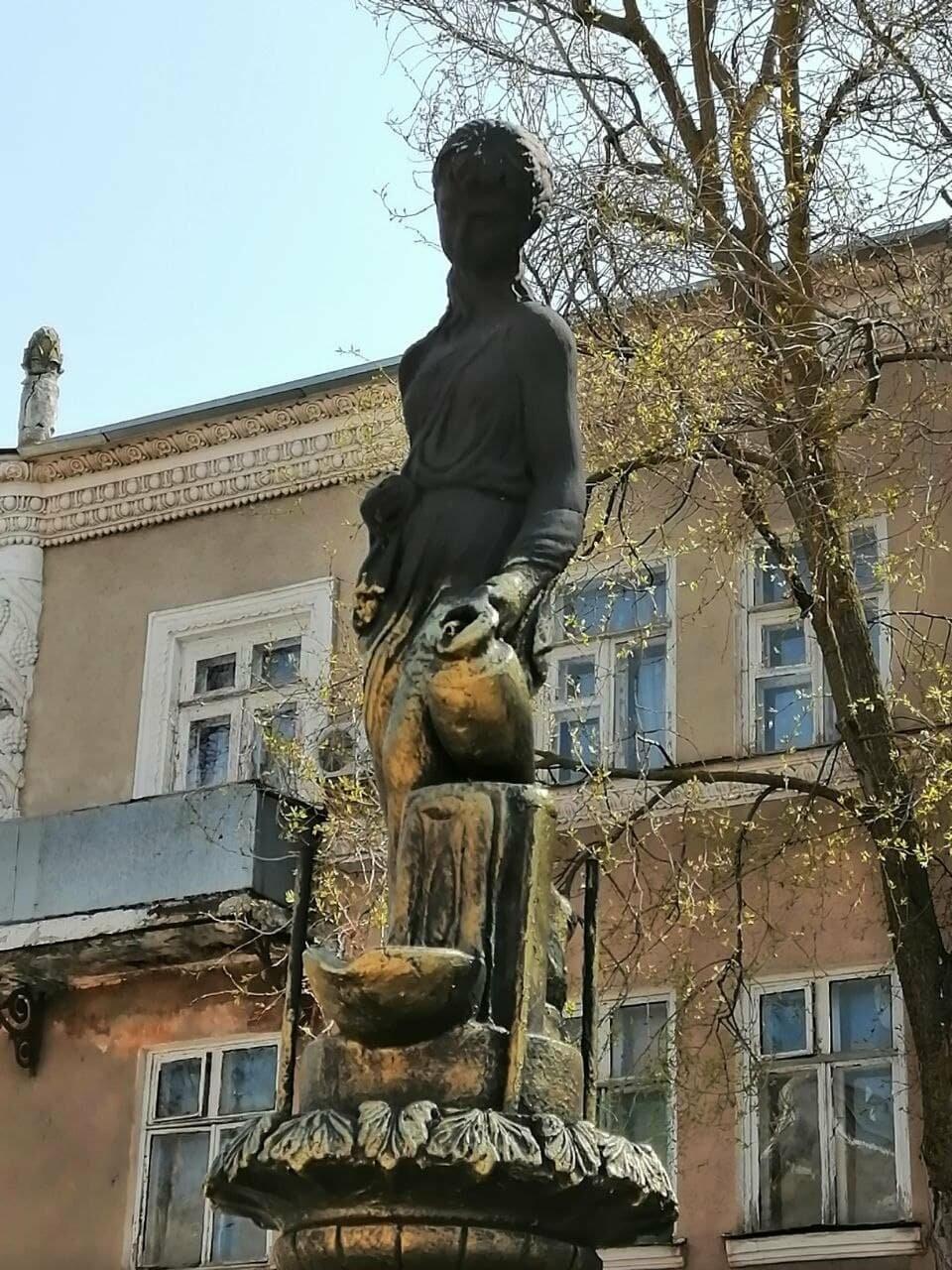 Бердянский фонтан украсят «золотые Купидоны» (ФОТОРЕПОРТАЖ), фото-5