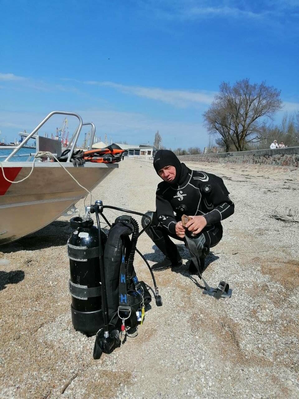 Водолазы исследуют дно Бердянского залива (ФОТО), фото-2