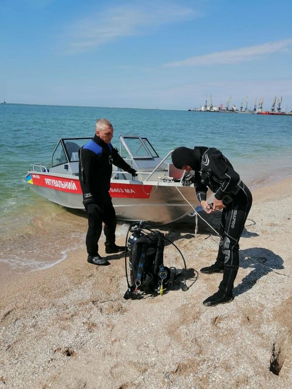 Водолазы исследуют дно Бердянского залива (ФОТО), фото-3