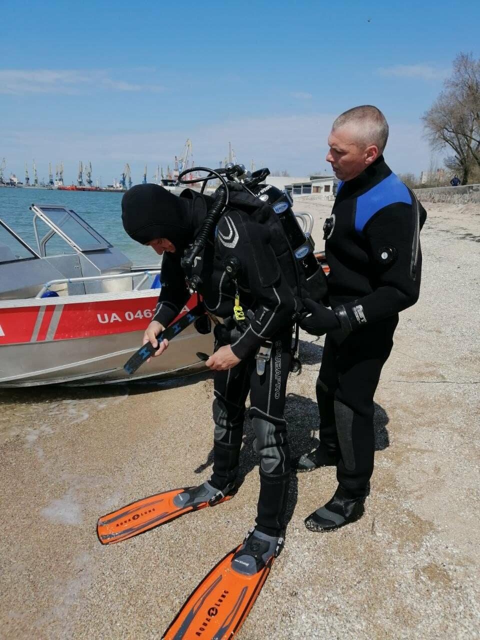 Водолазы исследуют дно Бердянского залива (ФОТО), фото-6