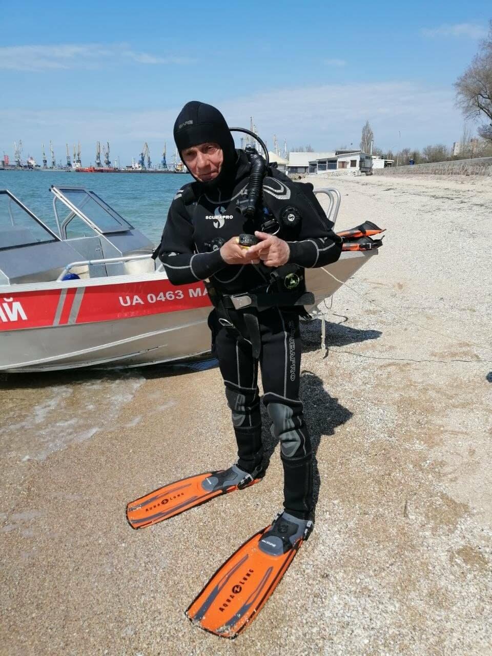 Водолазы исследуют дно Бердянского залива (ФОТО), фото-7