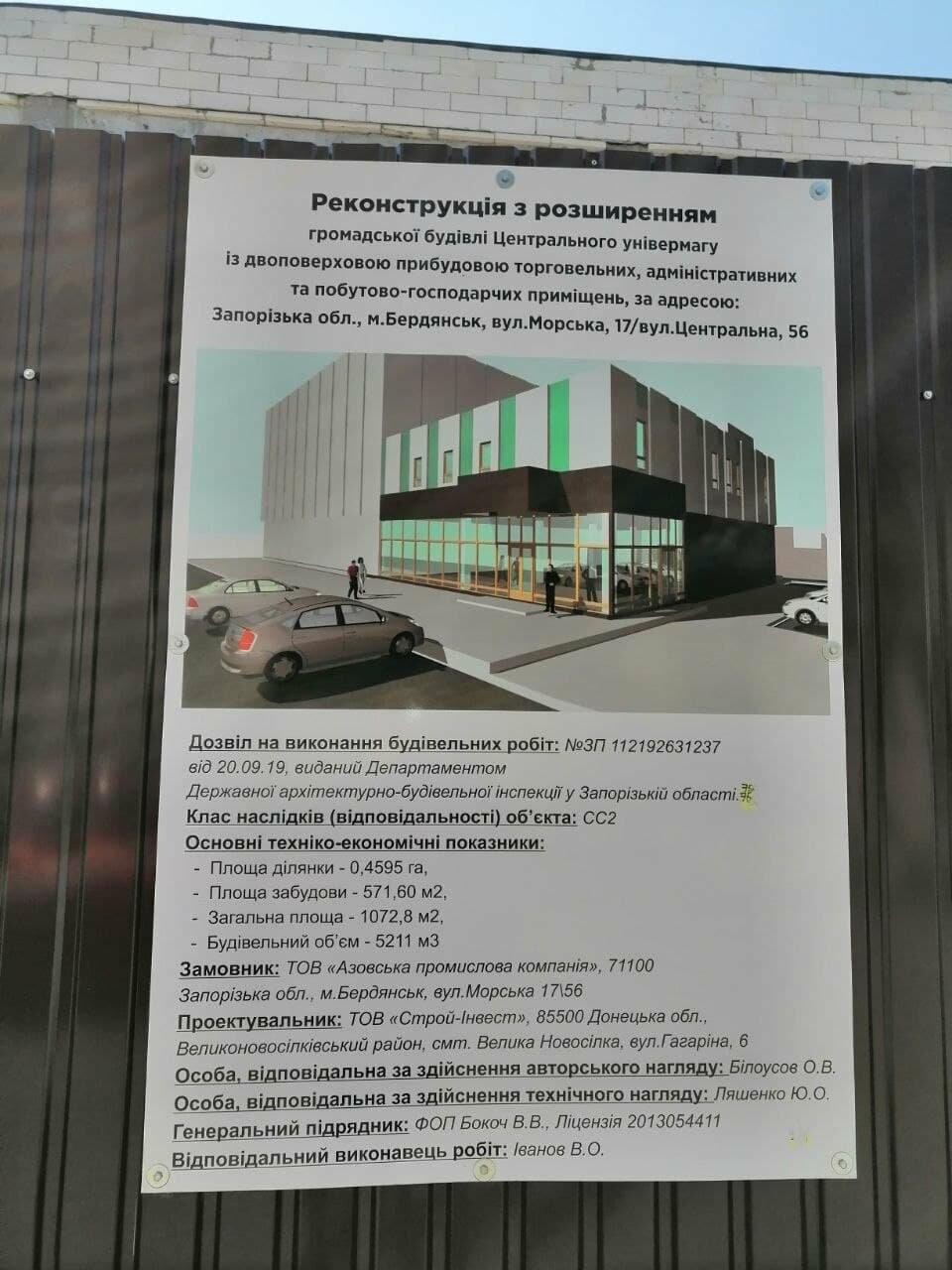 В здании Центрального универмага Бердянска откроется супермаркет «Зеркальный», фото-7