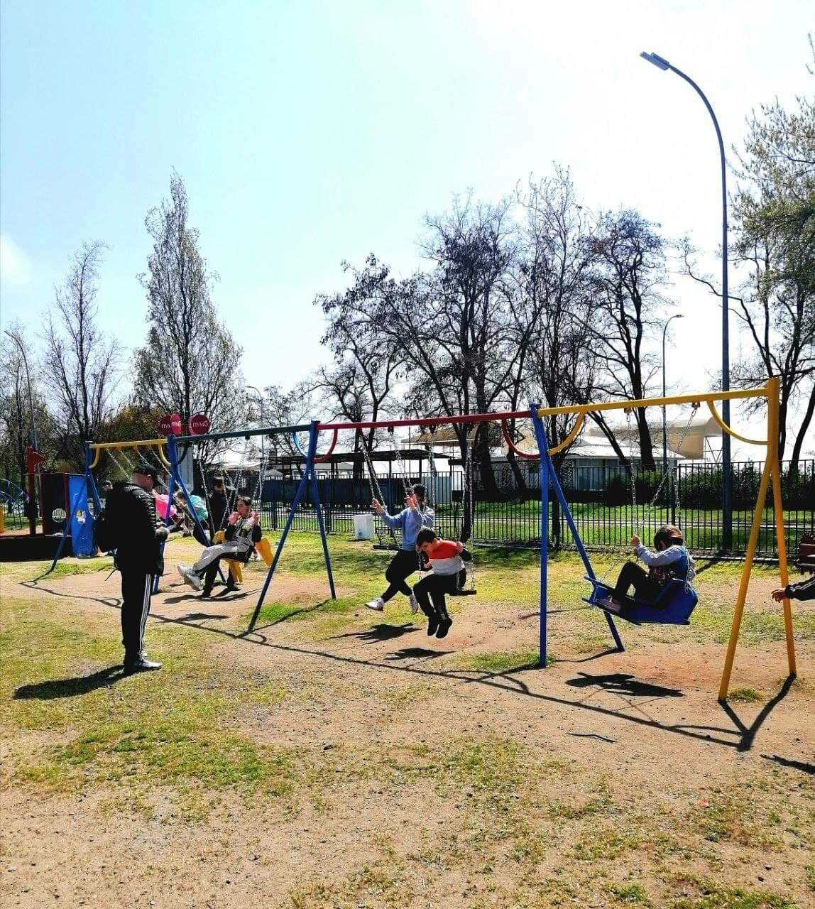 Бердянск встретил Первомай открытием фонтанов и летних площадок (ФОТО), фото-9