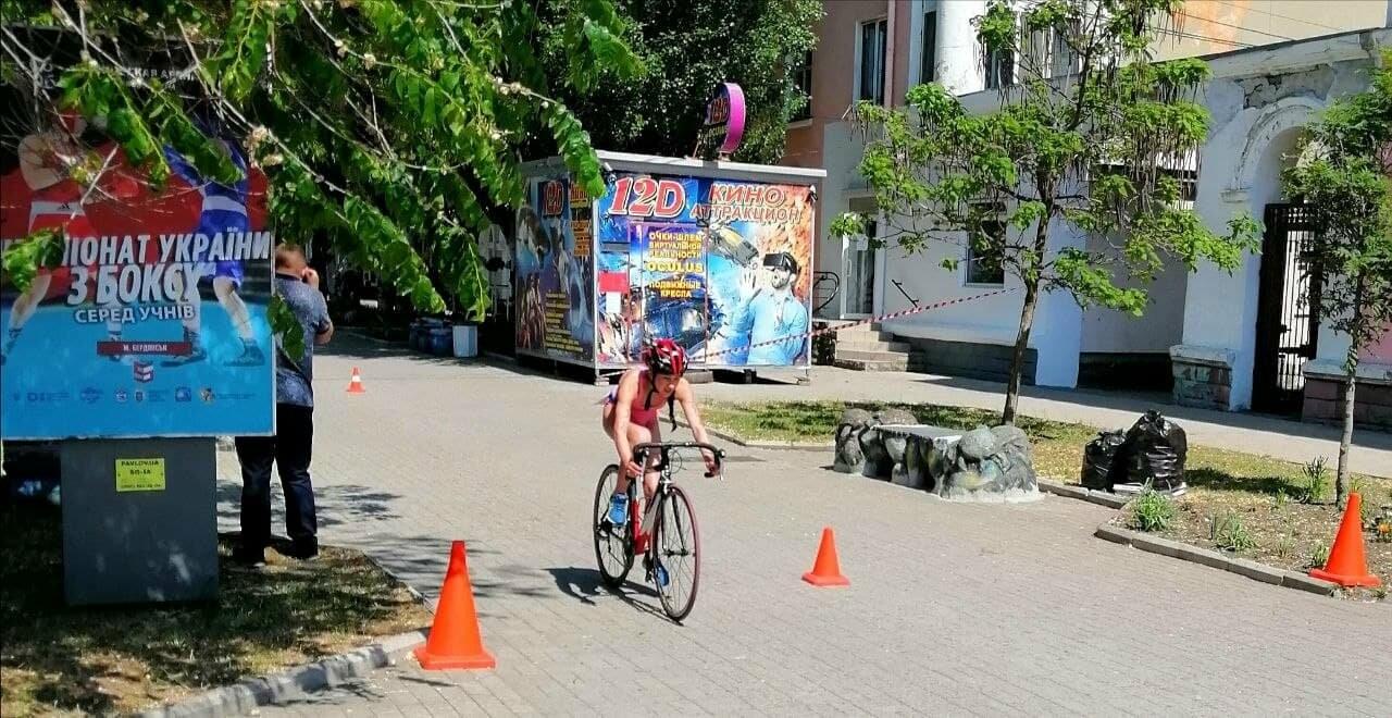 На Приморской площади Бердянска развернулись «триатлонные страсти» (ФОТО), фото-22