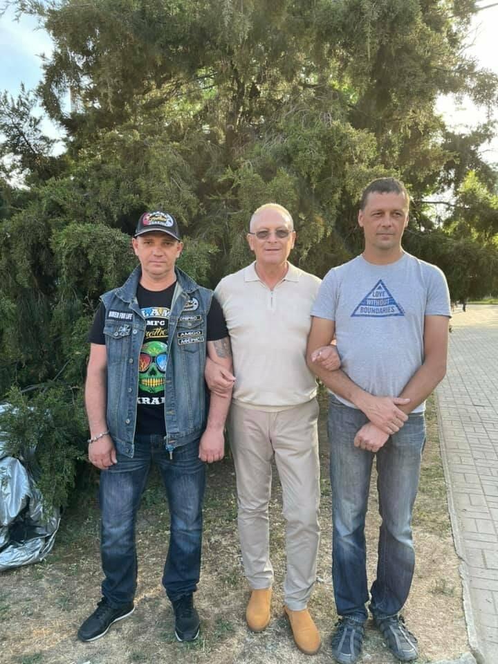 На Приморской площади Бердянска установили «Призрачного гонщика», фото-1