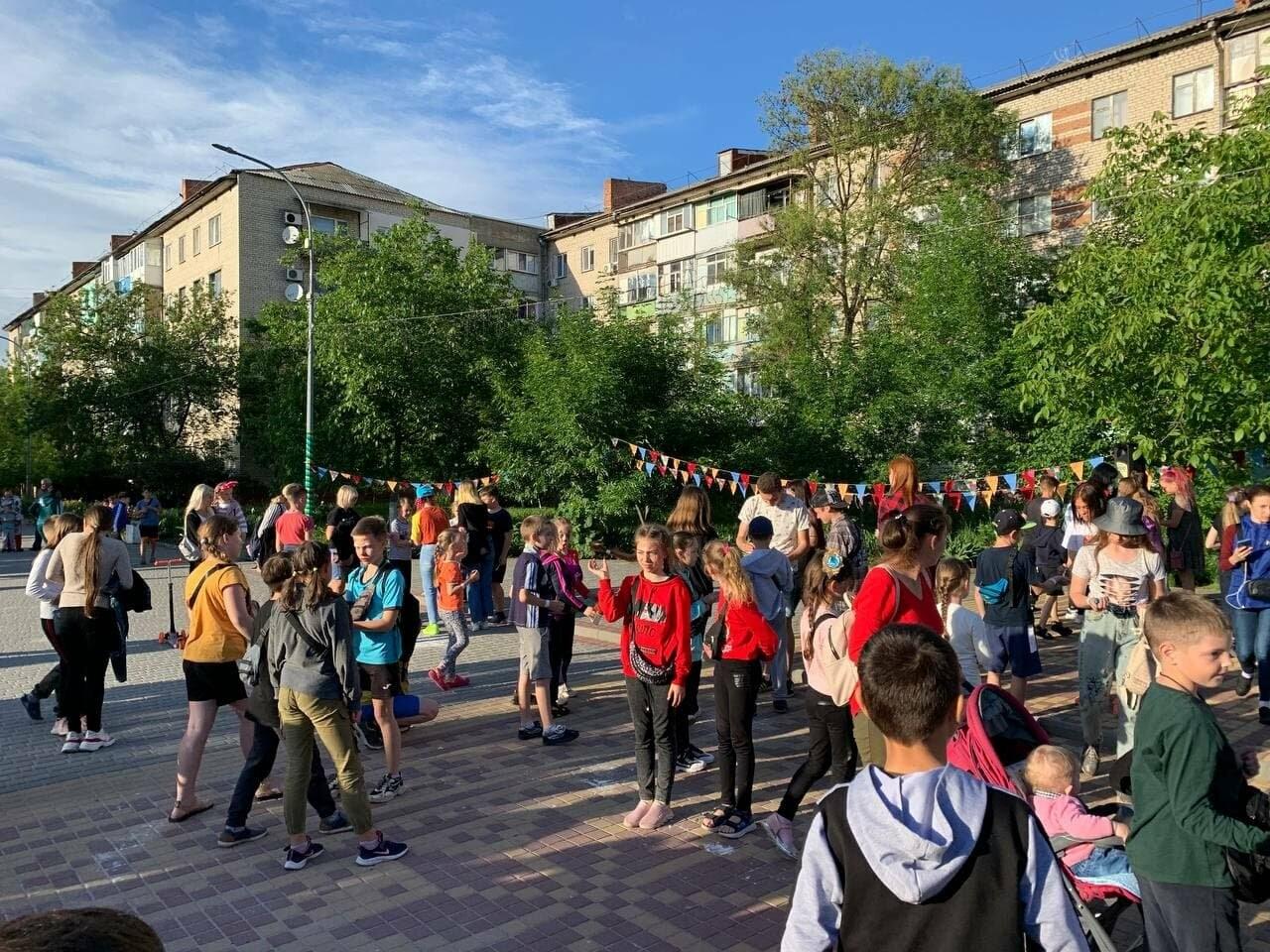 В Бердянске на бульваре Шевченко три дня отмечали День защиты детей (ФОТО), фото-3