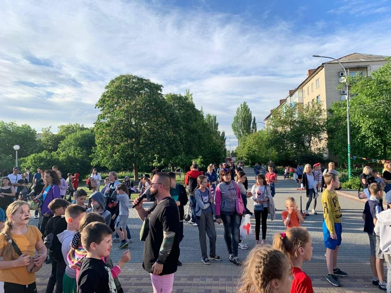 В Бердянске на бульваре Шевченко три дня отмечали День защиты детей (ФОТО), фото-2