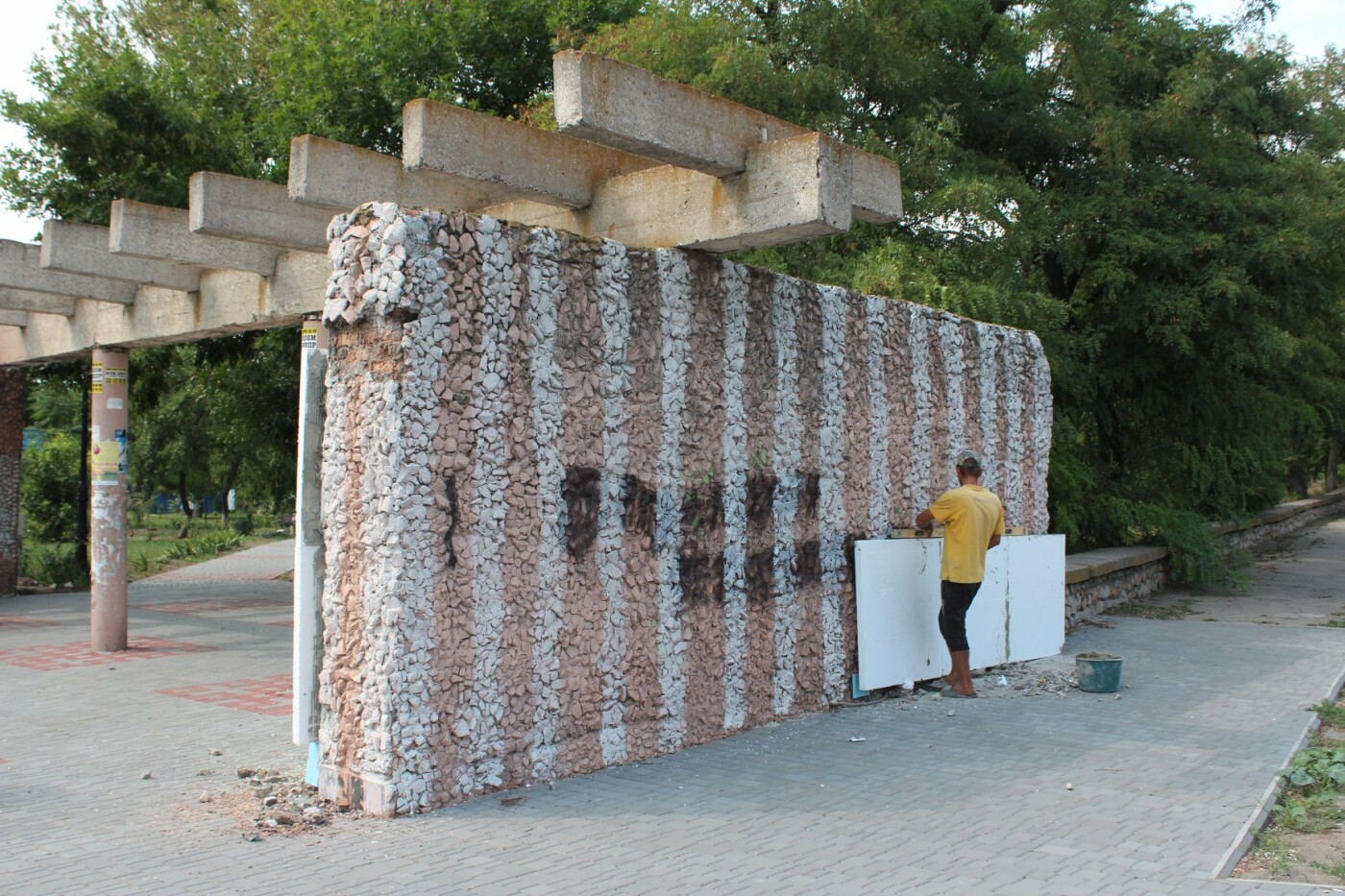 В Бердянске преобразился вход в сквер «Молодежный» (ФОТО), фото-3