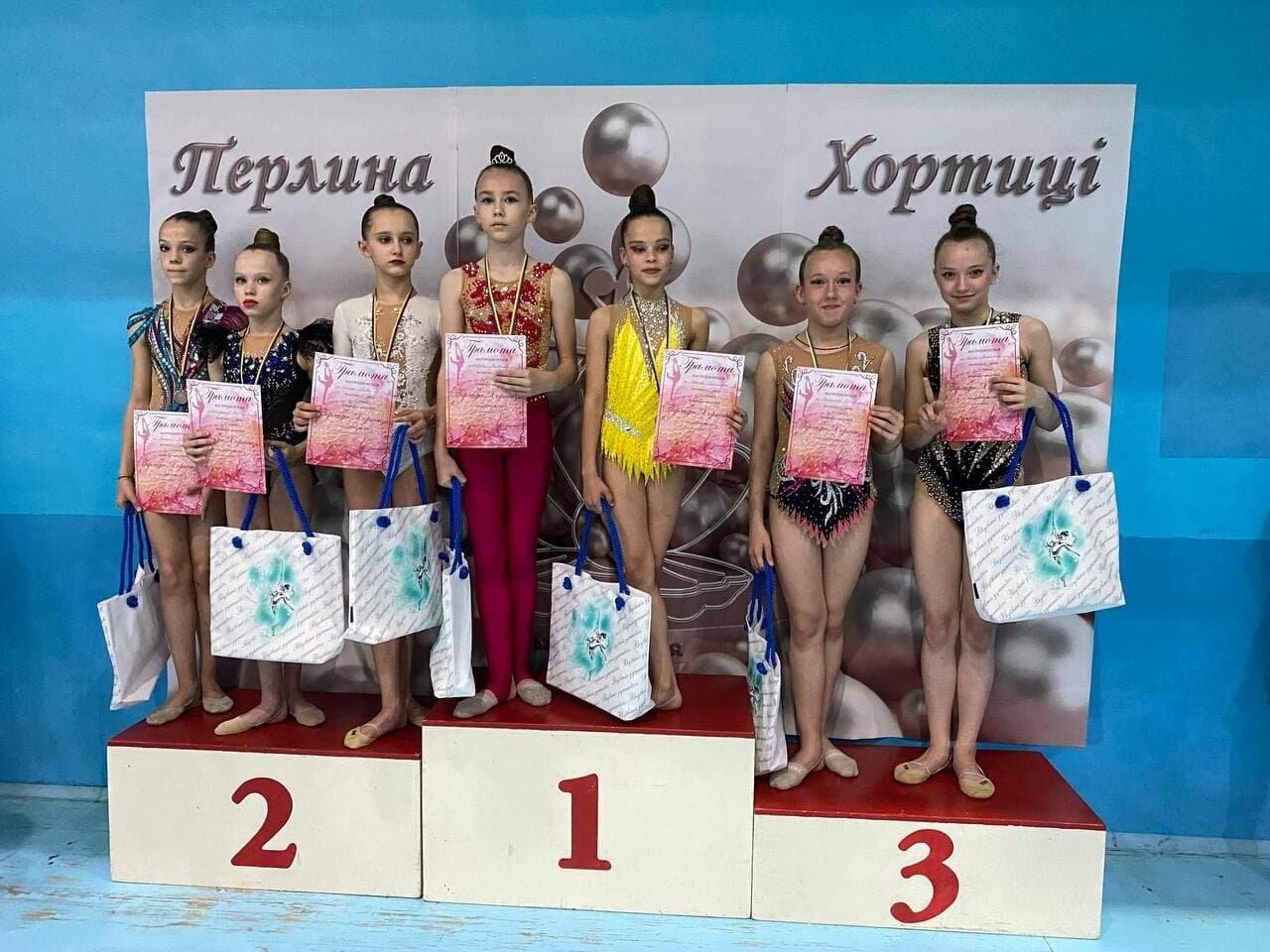 Гимнастки Бердянской ДЮСШ завоевали более 30 медалей в двух открытых первенствах, фото-2