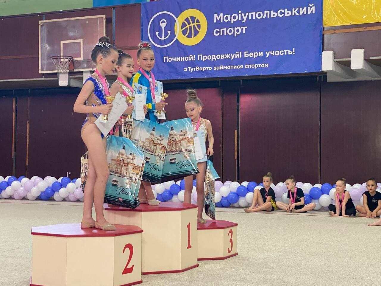Гимнастки Бердянской ДЮСШ завоевали более 30 медалей в двух открытых первенствах, фото-1