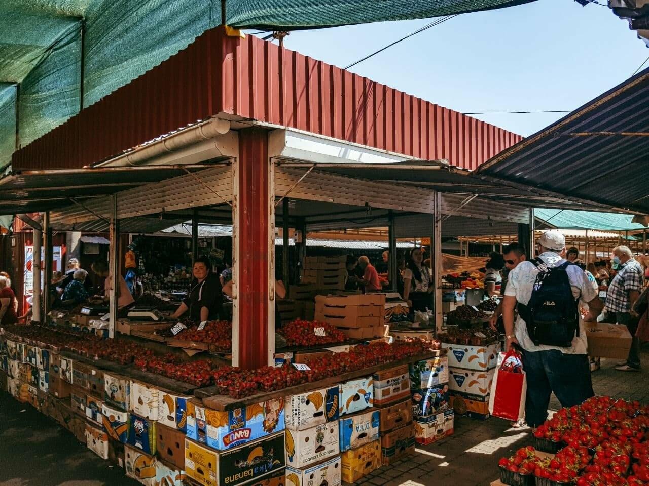 Рыночный день: по чём в Бердянске сезонные овощи, фрукты и ягоды (ЦЕНЫ), фото-8