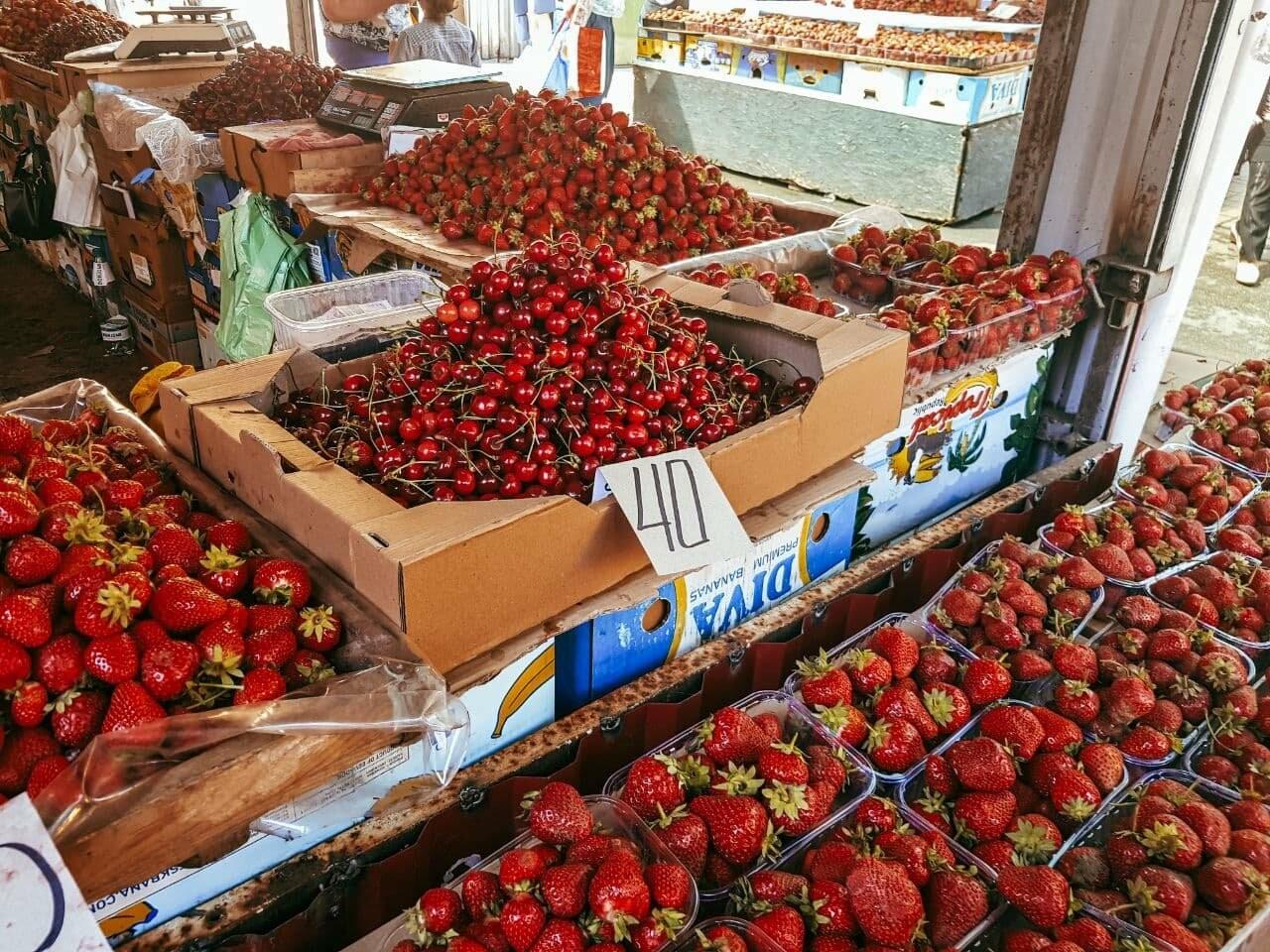Рыночный день: по чём в Бердянске сезонные овощи, фрукты и ягоды (ЦЕНЫ), фото-5