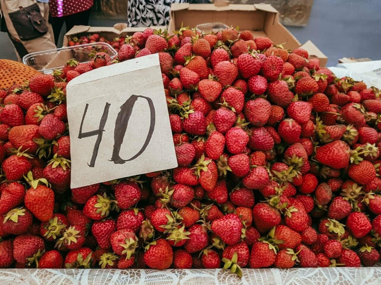 Рыночный день: по чём в Бердянске сезонные овощи, фрукты и ягоды (ЦЕНЫ), фото-3