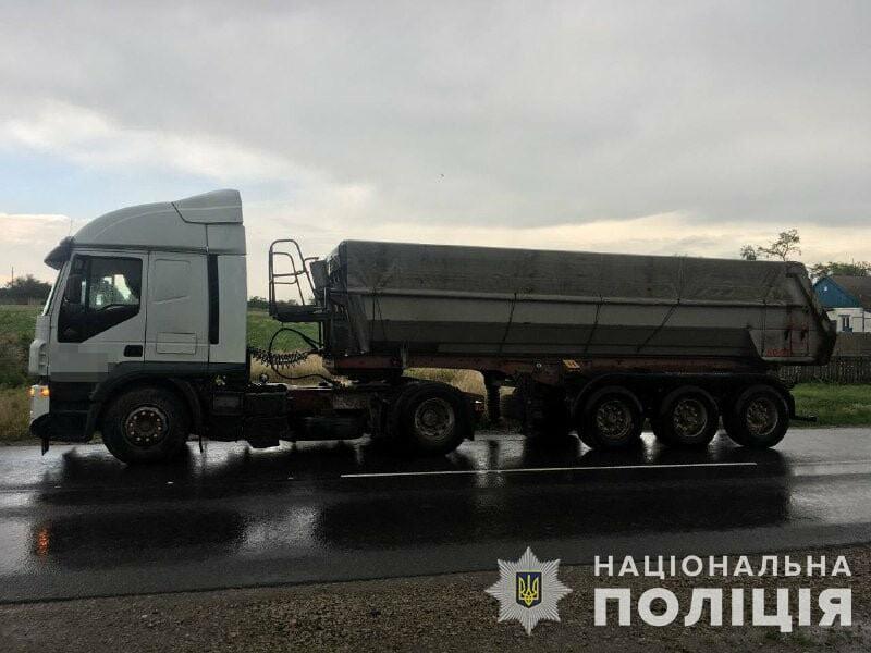 ДТП в с. Софиевка: грузовик сбил велосипедиста , фото-1
