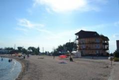 Славянская, гостиница на побережье Бердянской косы