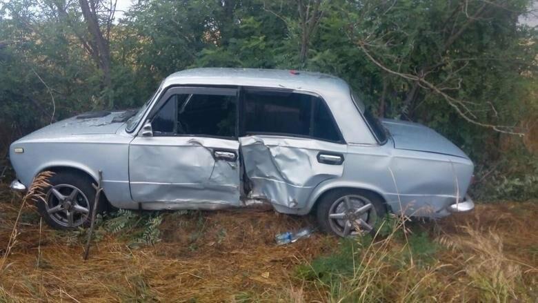 В Бердянском районе «Жигули» таранили дерево - пострадал водитель