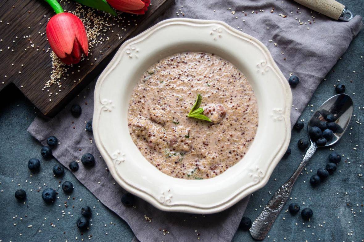 Суп из семян конопли