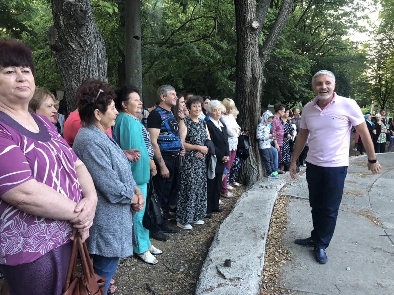 Ніна Матвієнко закликала жителів Більмака підтримати зміни, фото-2