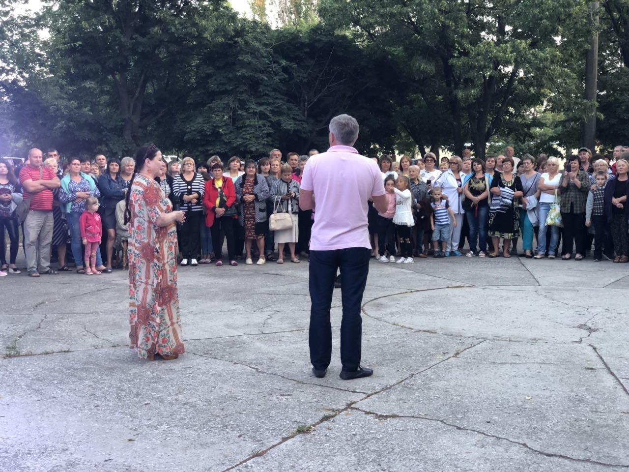 Ніна Матвієнко закликала жителів Більмака підтримати зміни, фото-6