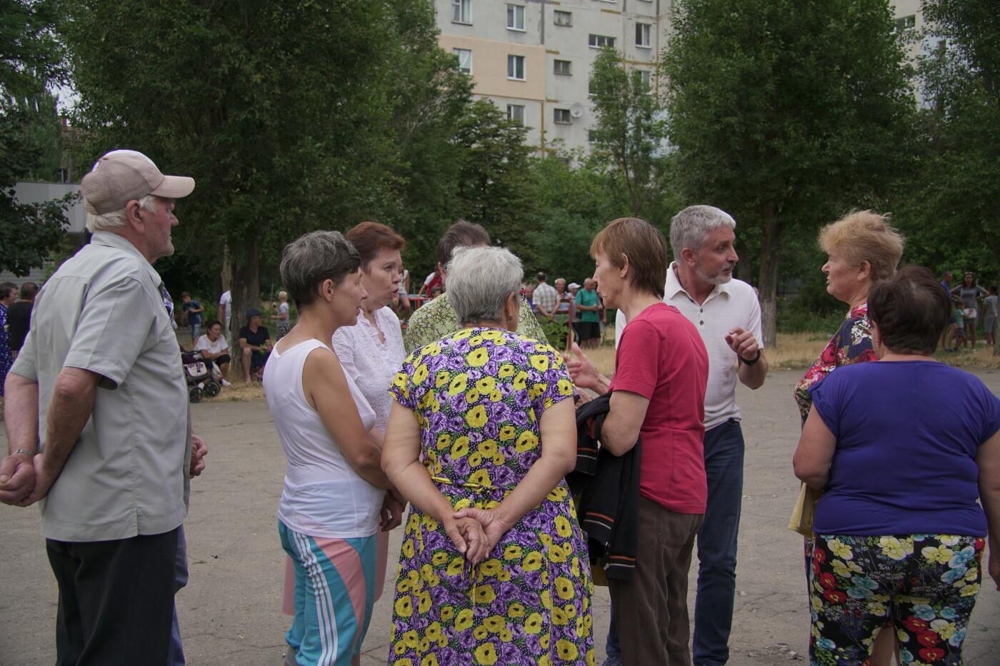 Ніна Матвієнко закликала жителів Макорт і Азмола проголосувати за зміни і порядок, фото-4