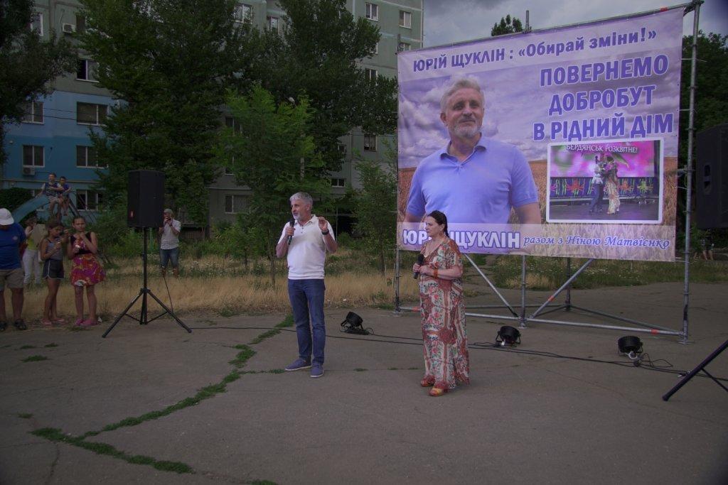 Ніна Матвієнко закликала жителів Макорт і Азмола проголосувати за зміни і порядок, фото-6