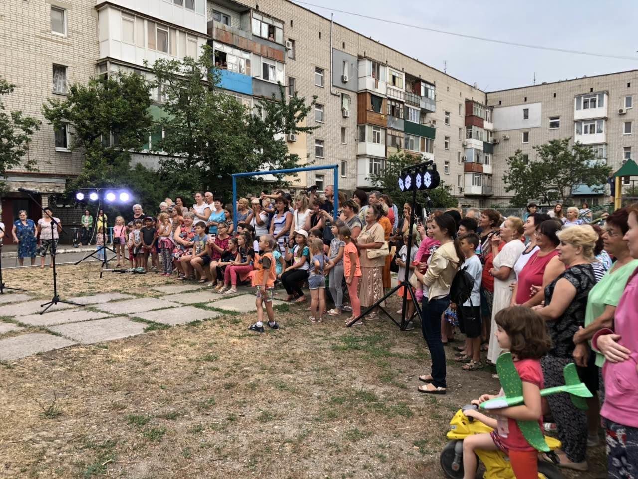 Ніна Матвієнко закликала жителів Макорт і Азмола проголосувати за зміни і порядок, фото-1