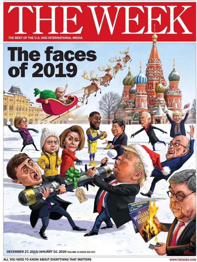 Зеленский попал на обложку известного американского журнала, фото-1