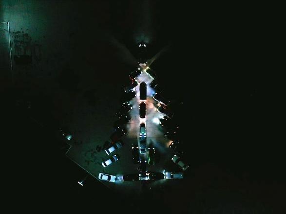 Автолюбители Бердянска отметили Новый Год, фото-1