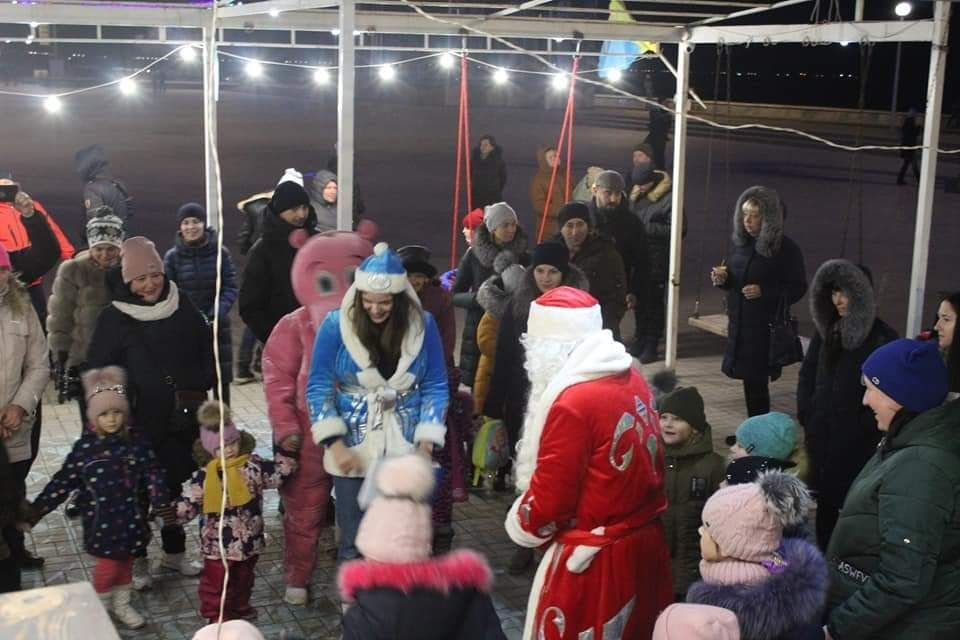 Празднование Нового Года на Приморской Площади (фото), фото-4