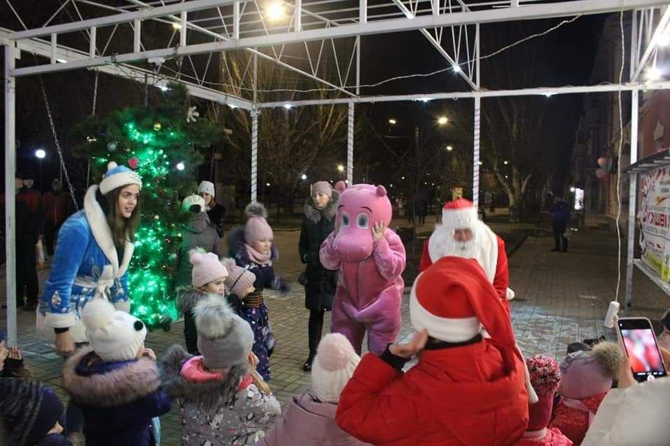Празднование Нового Года на Приморской Площади (фото), фото-5