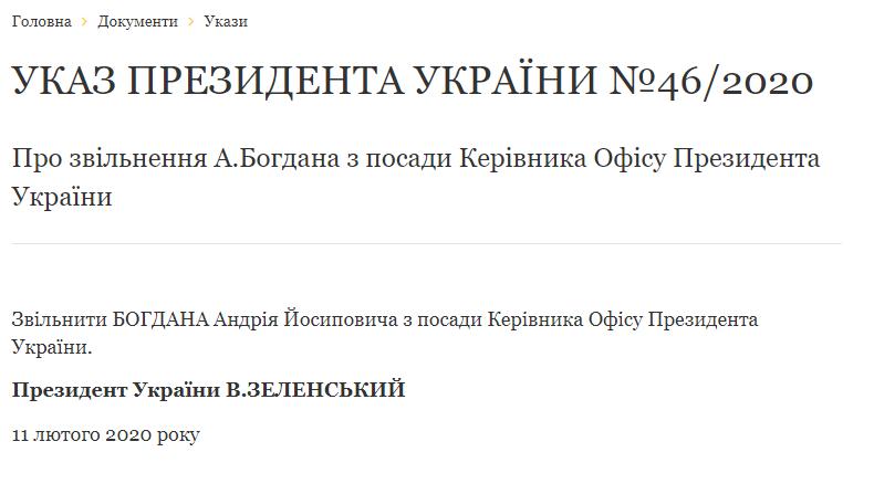 В Україні змінився керівник Офісу Президента, фото-1