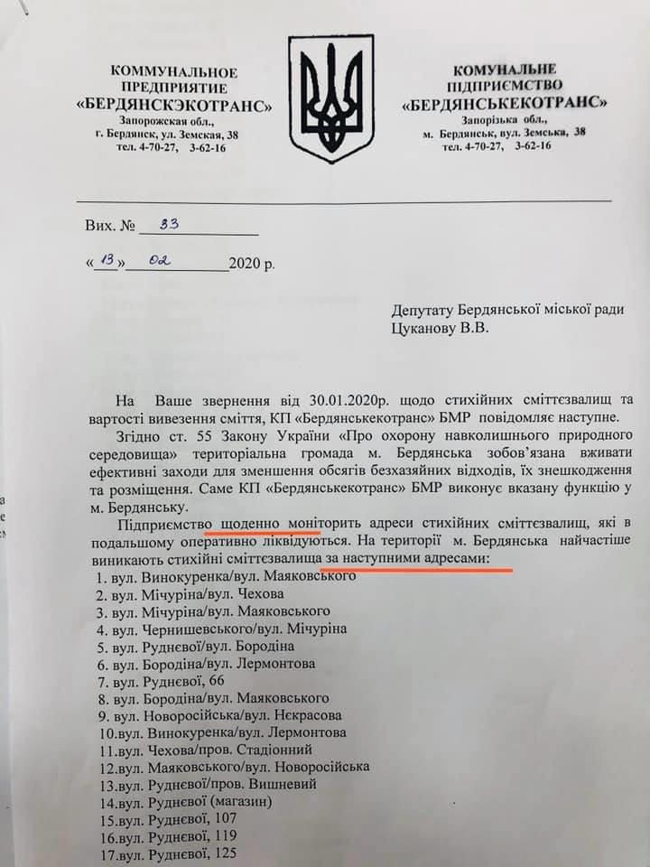 У Бердянську зафіксовано 95 місць масового скупчення стихійних звалищ, фото-1