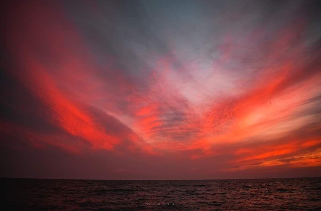Неймовірний захід сонця у Бердянську, фото-2