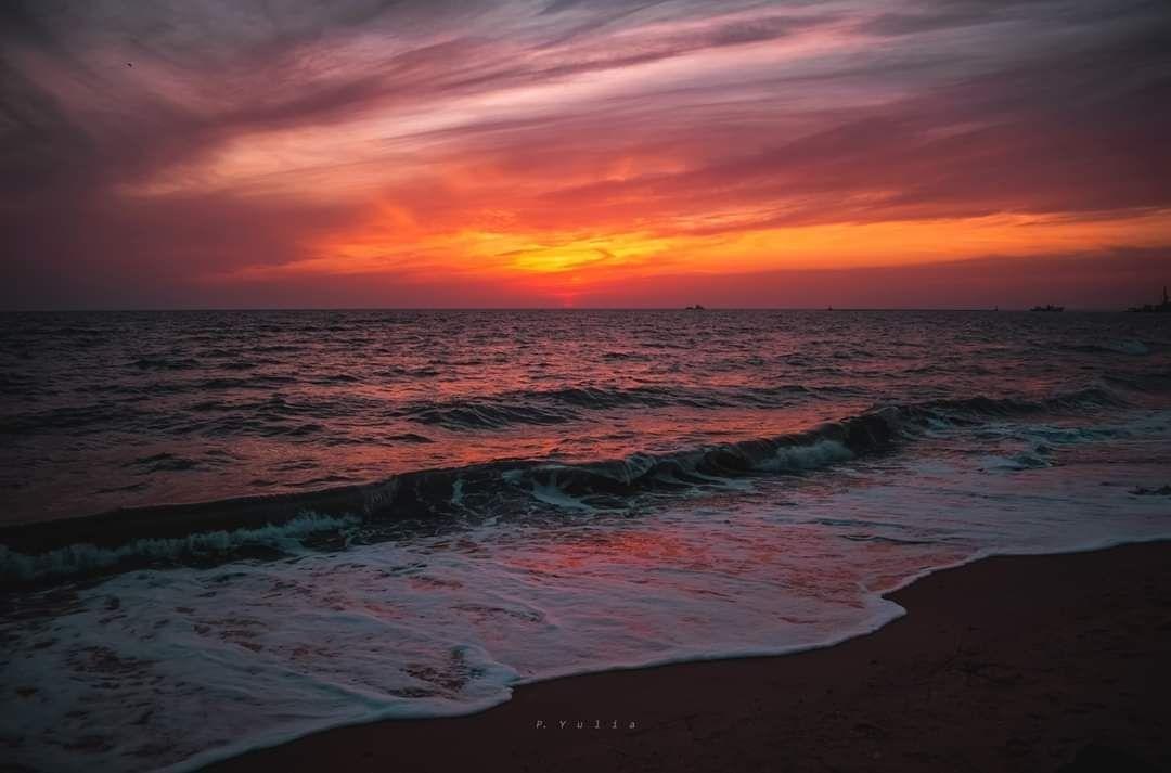 Неймовірний захід сонця у Бердянську, фото-5
